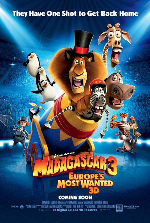 داونلود رایگان کارتون ماداگاسکار ۳ از لینک مستقیم