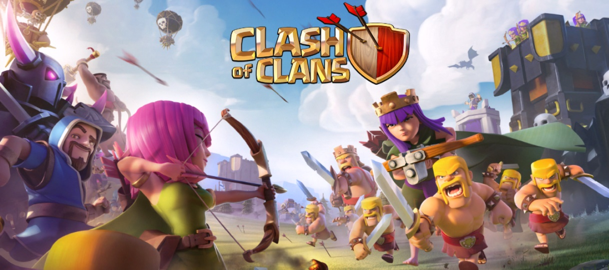 دانلود آخرین نسخه کلش آو کلنز لینک مستسقیم Clash of clans 8.551.4