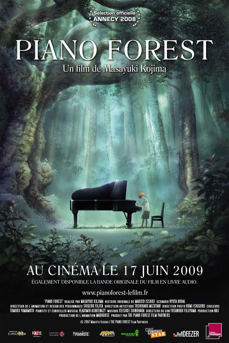 داونلود دوبله فارسی کارتون جنگل پیانو