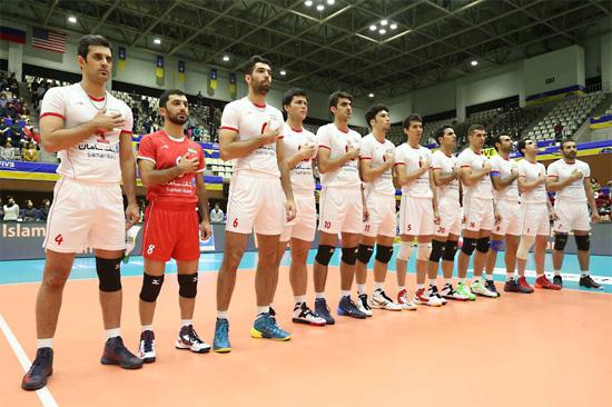 دیدارهای دوستانه تیم ملی والیبال ایران و آمریکا در لس آنجلس