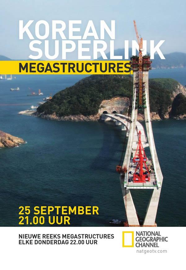 فیلم مستند ساخت بزرگراه کره جنوبی Megastructures : Korean Superlink