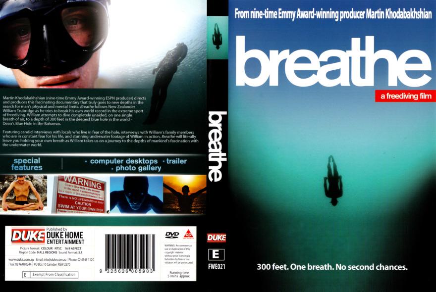 مستند شیرجه به اعماق آب Breathe: A Free diving Film