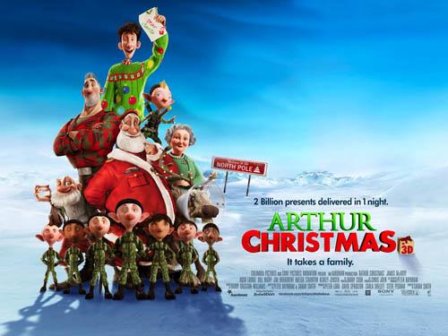 داونلود دوبله فارسی کارتون Arthur Christmas 2011