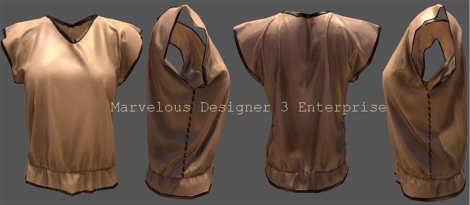 نرم افزار طراحی لباس مارولس