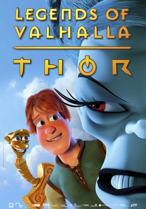 داونلود دوبله فارسی Thor Legends of Valhalla 2011
