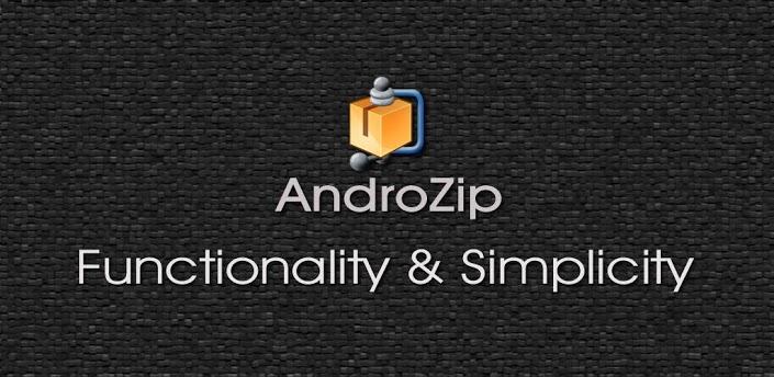 فایل منیجر برای اندروید AndroZip Pro File Manager