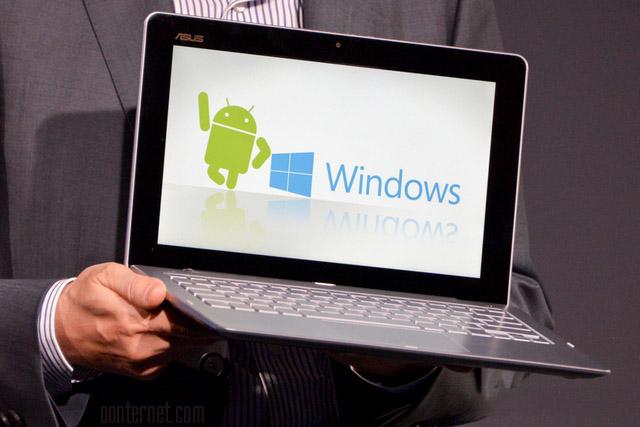 تبلت های دوال سیستم عامل ویندوز و اندروید
