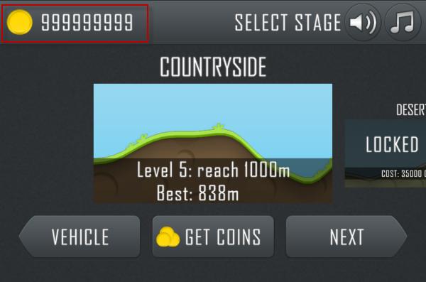 داونلود Hill Climb Racing با Unlimited coins