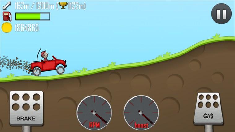 داونلود بازی Hill Climb Racing برای ویندوز
