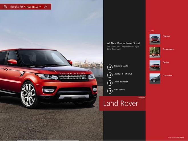 تبلیغات نوین مایکروسافت Microsoft Brings Full-Screen Ads in Windows 8.1