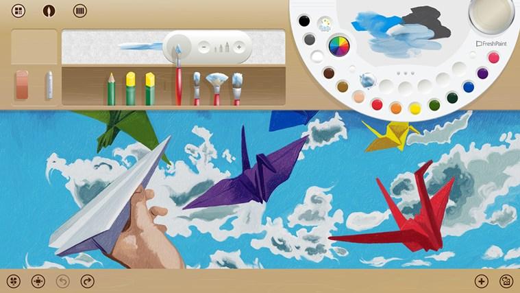 داونلود تازه ترین نسخه اپ Fresh Paint برای ویندوز هشت