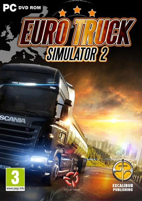 داونلود بازی شبیه ساز کامیون Euro Truck - 2012 از لینک مستقیم