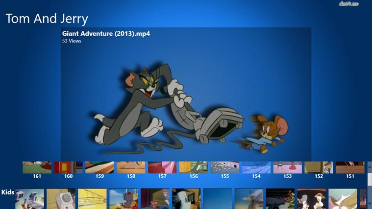مشاهده آنلاین همه قسمتهای کارتون Tom And Jerry