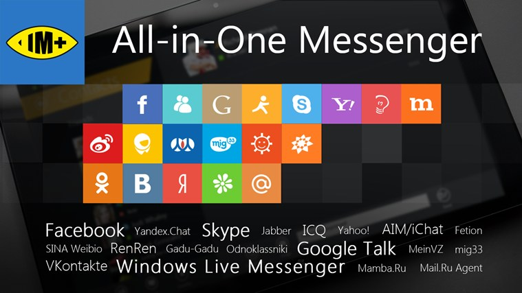 Download IM+ Instant Messenger for Windows 8