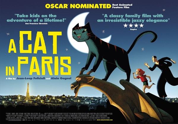 داونلود کارتون A Cat in Paris 2010 لینک مستقیم
