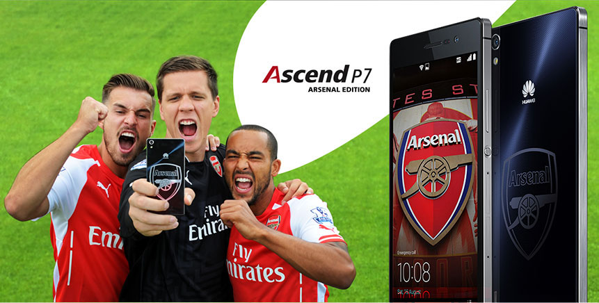 Huawei Ascend P7 Arsenal Edition Goes Official in the UK