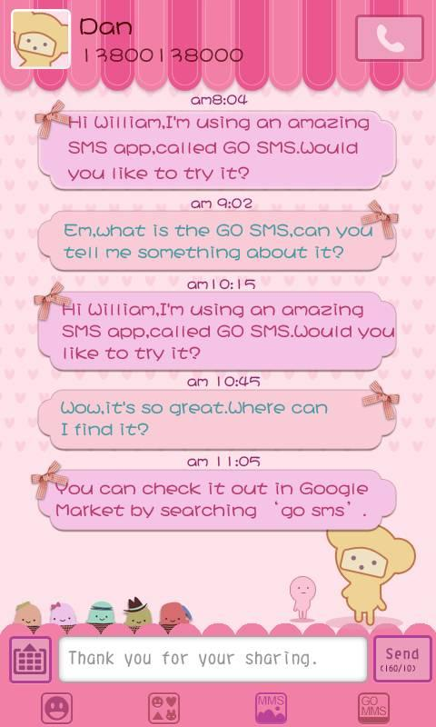 داونلود آخرین ورژن بهترین و کاملترین نرم افزار اس ام اس اندروید GO SMS Pro