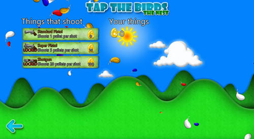 Tap the Birds Arrives on Windows 8
