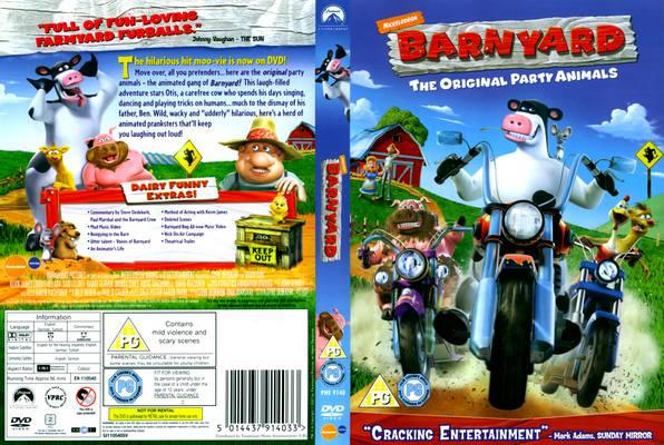 داونلود دوبله فارسی انیمیشن رئیس مزرعه ۱ – Barnyard 2006 از لینک مستقیم