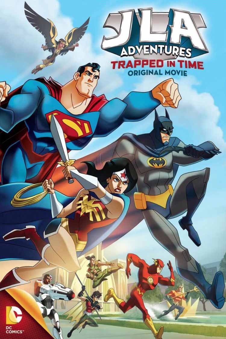 داونلود کارتون JLA Adventures Trapped in Time