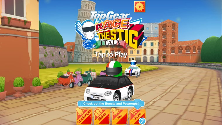 BBC Launches Top Gear: Race The Stig Game for Windows 8.1