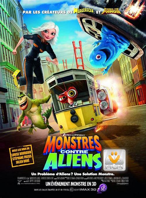 سریال جدید هیولاها علیه بیگانگان Monsters vs Aliens 2013