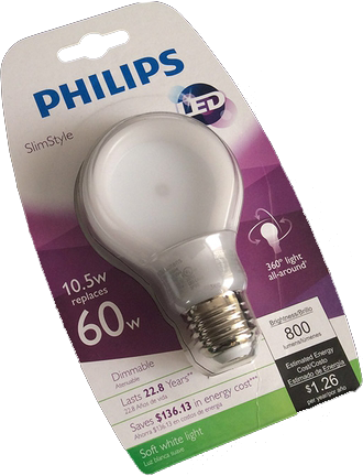 Philips the SlimStyle LED Bulb