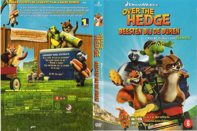 داونلود دوبله فارسی انیمیشن آن سوی پرچین – Over The Hedge 2006 از لینک مستقیم