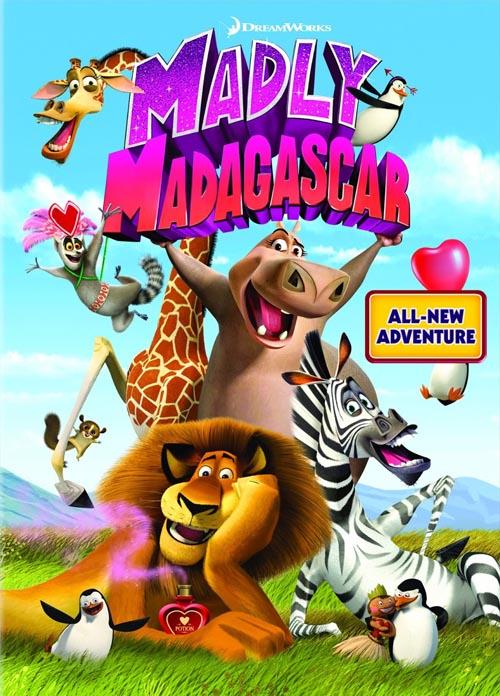 داونلود کارتون جدید دیوونه بازی تو ماداگاسکار Madly Madagascar 2013