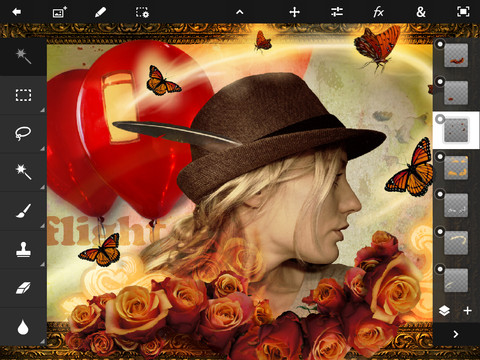 Download Adobe Photoshop Touch for iPad 1.2