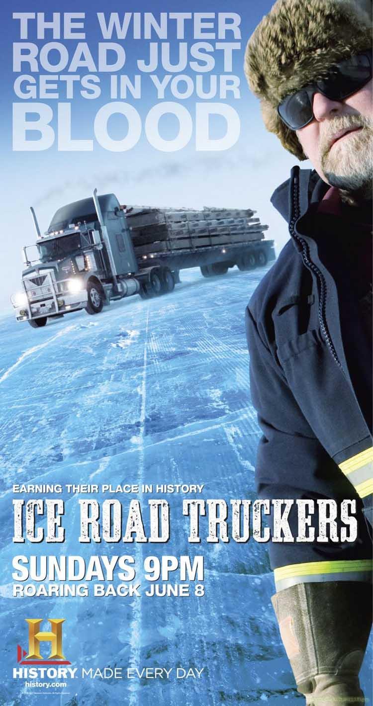 داونلود مستند رانندگان جاده های یخی