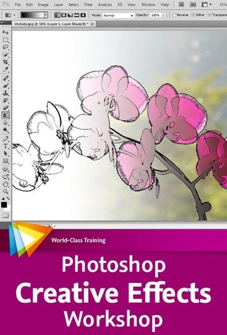 داونلود فیلم جدید اموزش فتوشاپ Photoshop Creative Effects Workshop