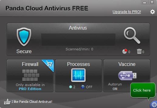 داونلود آنتی ویروس رایگان پاندا Panda Cloud Antivirus 3.0.1