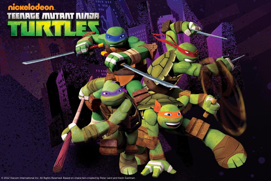 داونلود رایگان سریال کارتونی جدید لاکپشتهای نینجا