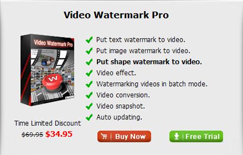 اضافه کردن متن و عکس روی فیلم با Aoao Video Watermark Pro 3.0