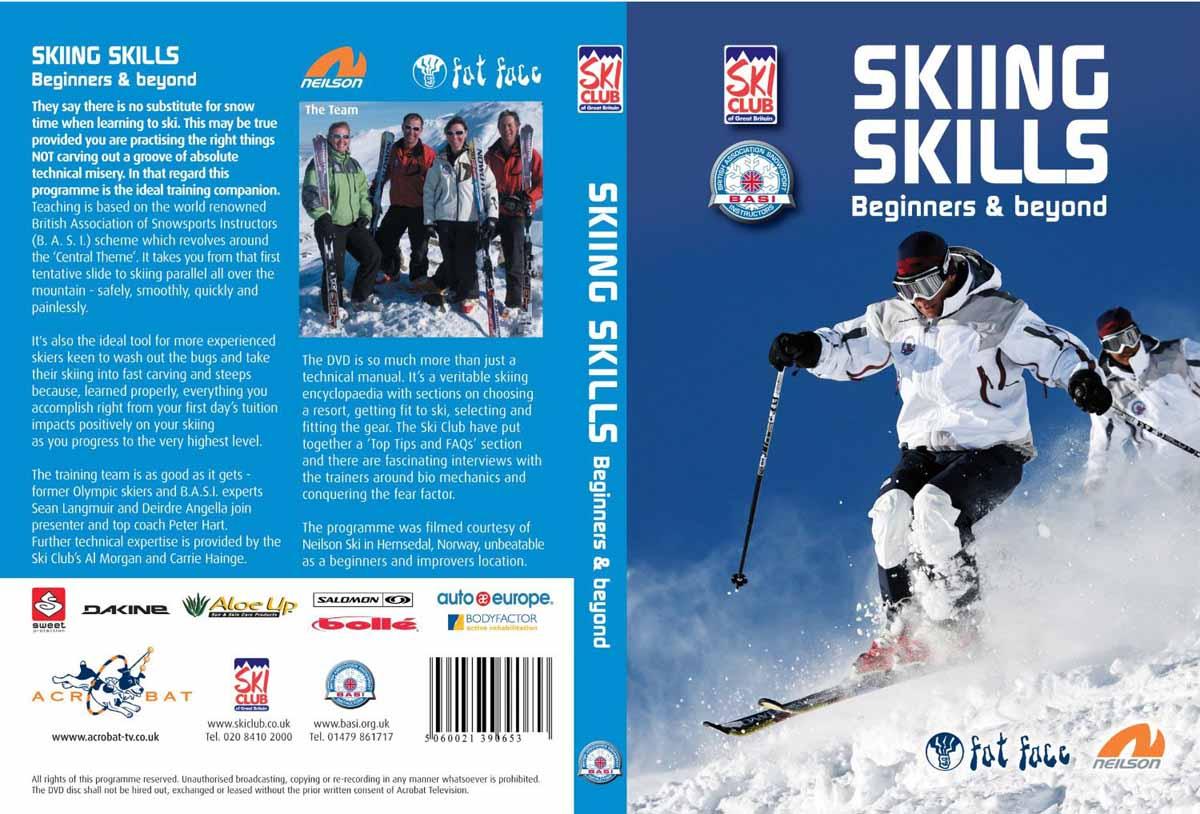 فیلم آموزش اسکی