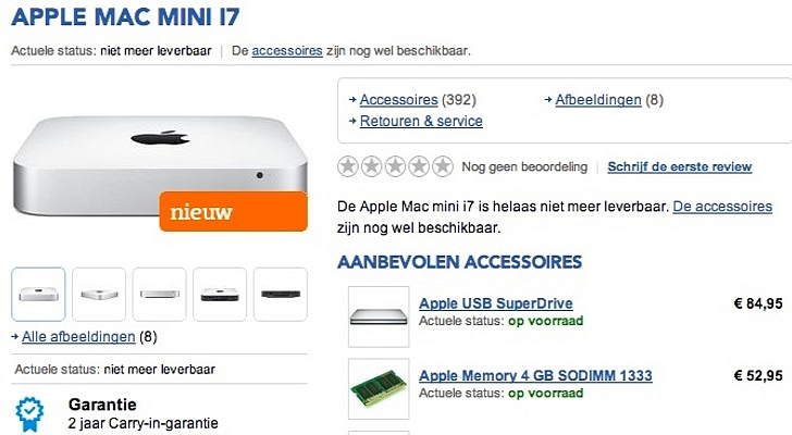 Mac mini 2014 Model Is on the Way