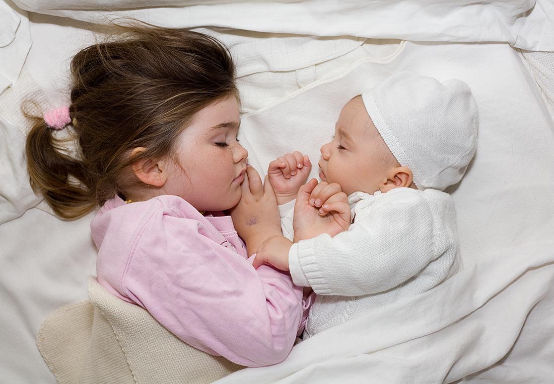 ده ساعت خواب شبانه برای کودکان زیر هفت سال ضروری است