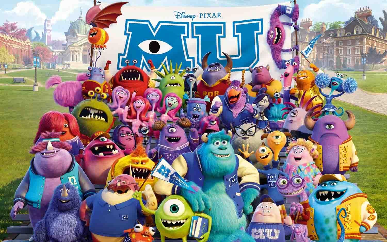 داونلود لینک مستقیم Monsters University Web-DL (2013) Mkv