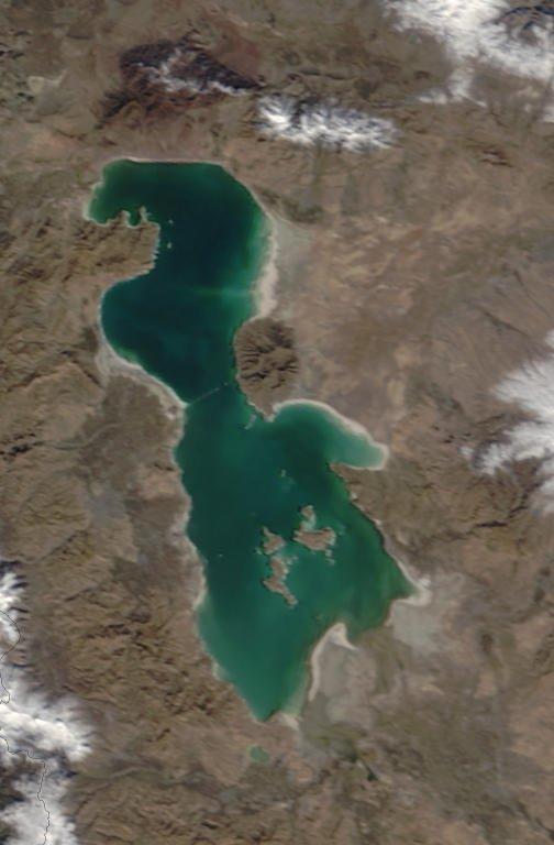 نجات و احیای دریاچه ارومیه