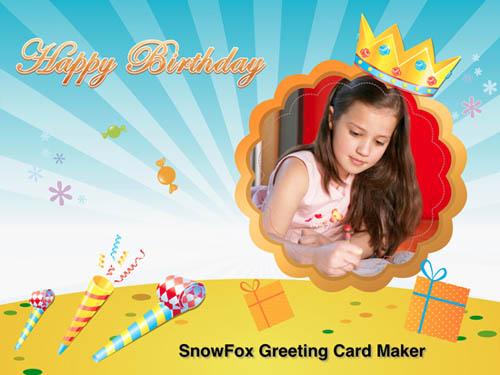 داونلود تازه ترین نسخه SnowFox Greeting Card Maker