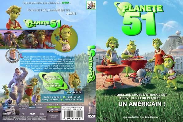 دوبله فارسی انیمیشن سیاره ۵۱ : فیلم با نگاهی طنز آلود، داستان قدیمی حمله موجودات فضایی را به تصویر می کشد