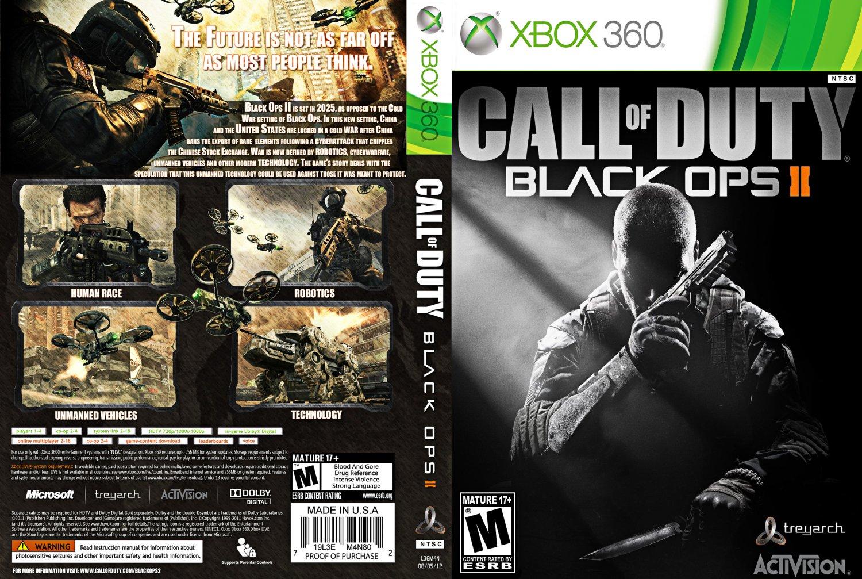 بازی جدید کال آو دیوتی بلک اوپس دو Call Of Duty Black Ops II برای ایکس باکس