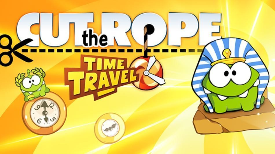 داونلود کات د روپ برای آیفون Cut the Rope: Time Travel