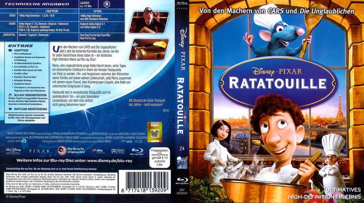 داونلود دوبله فارسی فیلم کارتونی موش سرآشپز Ratatouille 2007