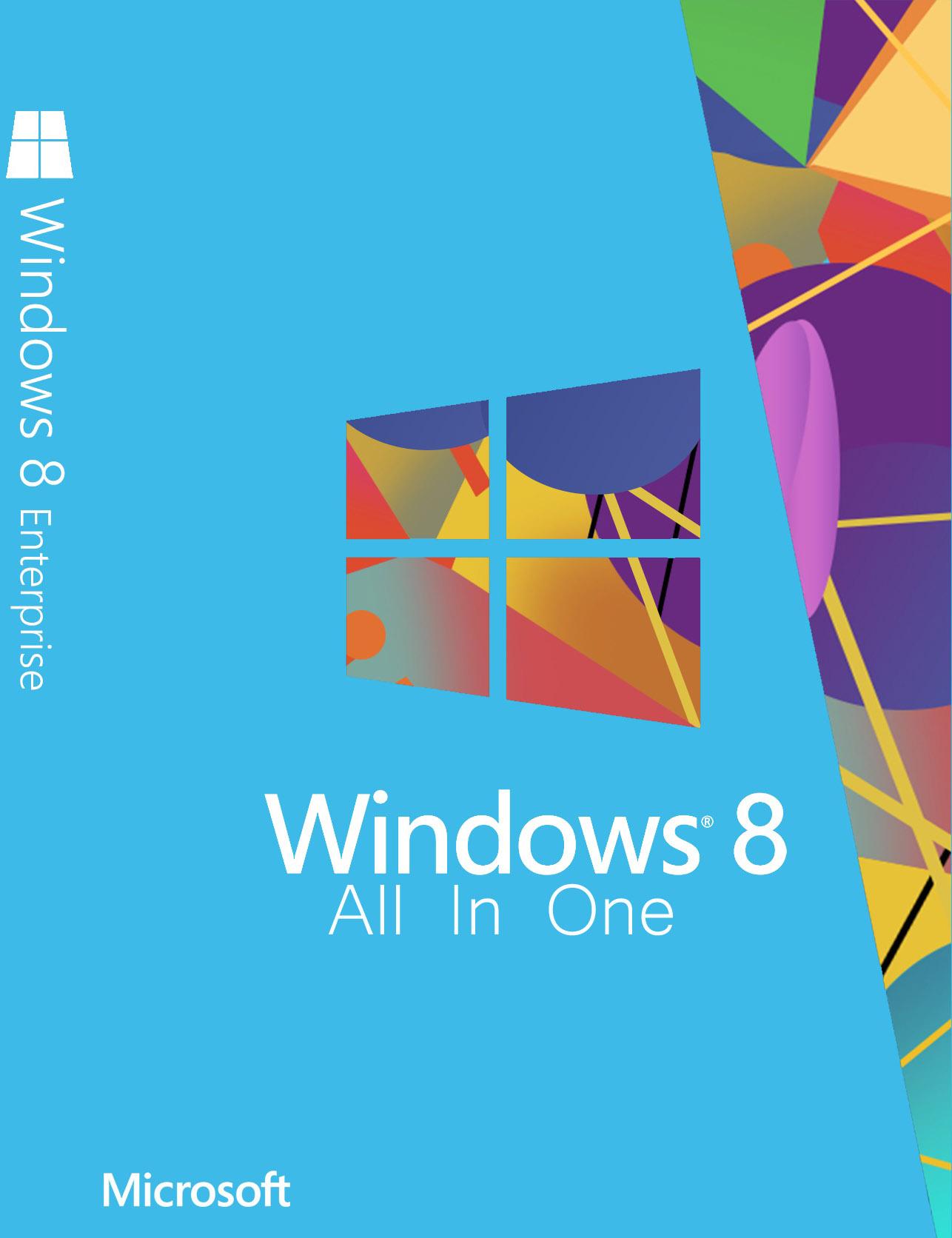 داونلود مجموعه همه نسخه های ویندوز ۸ اکتیو شده کامل