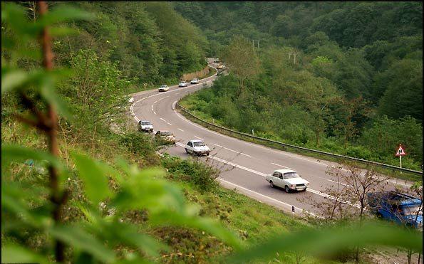 جاده هراز 21 تیر تا 1 مرداد بسته است