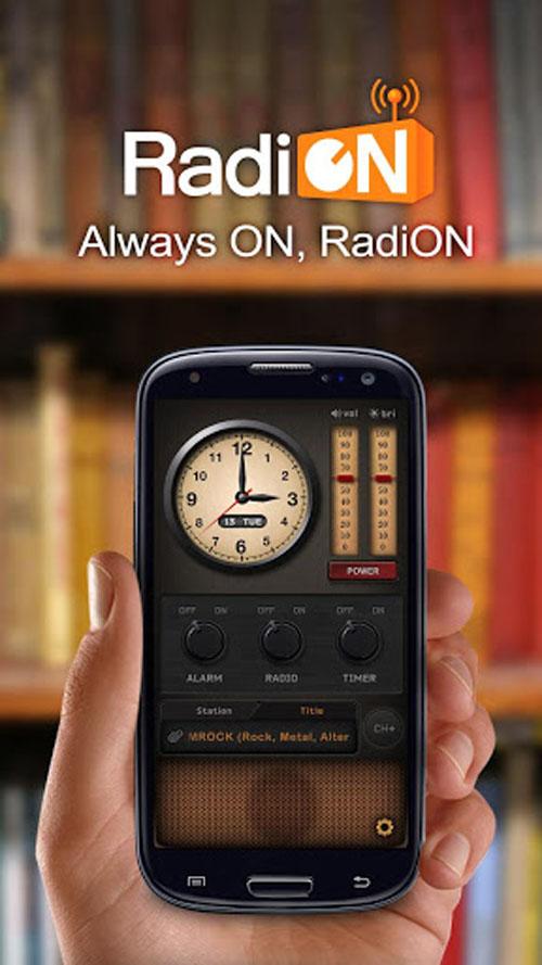تازه ترین نسخه رادیو اینترنتی RadiON