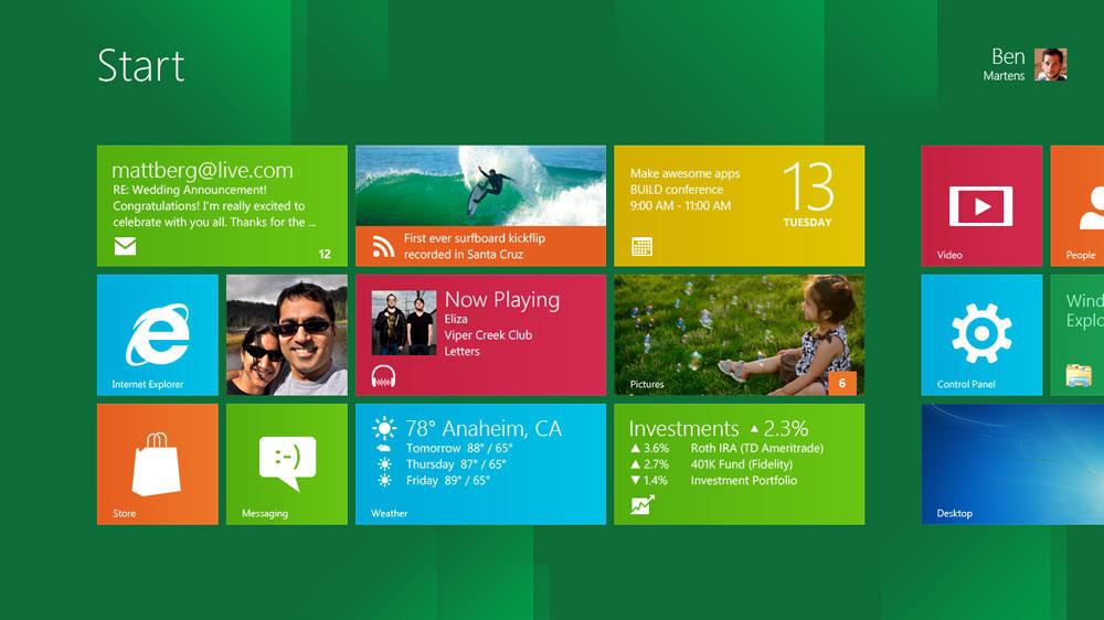 داونلود رایگان ويندوز 8 - Windows 8 Release Preview Build 8400 x86/x64 از لینک مستقیم