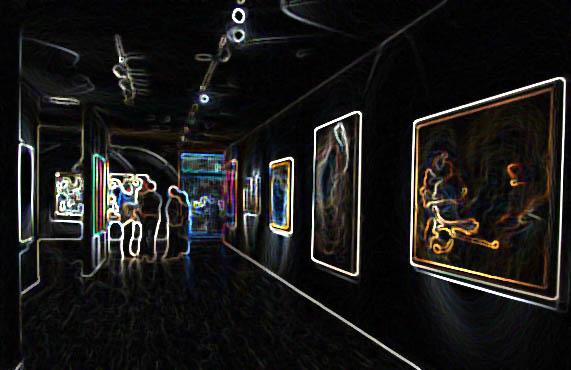 برنامه گالری های هنری تهران